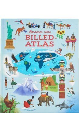 Alletiders Atlas Med 15 Store Og Smukt Illustrerede Kort