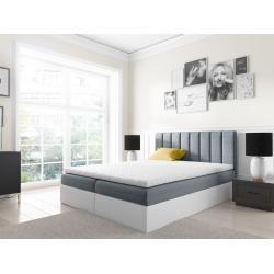 Lonni Boxspringbett Inklusive Led Beleuchtung Material Kunstleder 180 X 200 Cm Mobel Einsmobel Ei Boxspringbett Bett Und Bettkasten