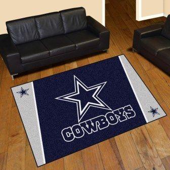 Dallas Cowboys 5x8 Rug In 2019 Rugs On Carpet Cowboys Rugs