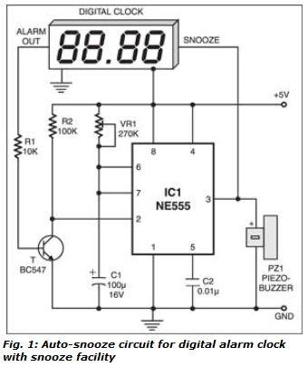 auto snooze for digital alarm clocks alarm clocks are made to Three Lead LED Wiring Diagram  LED Trailer Light Wiring Diagram LED Light Diagram LED Panel Diagram