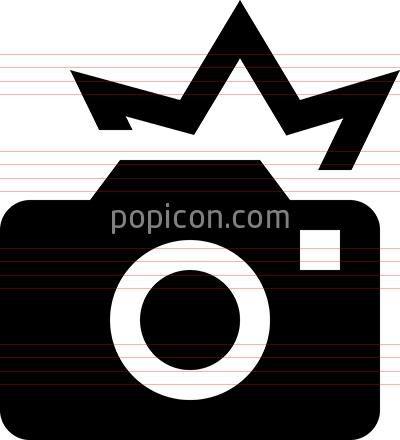 Camera Flash Vector Icon Flash Vector Camera Flash Icon