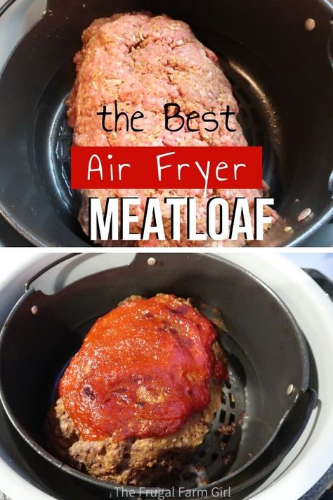 Making meatloaf in your Foodi Ninja is easy. I was intimated wondering how it would shape without the traditional loaf pan. Air Fryer Dinner Recipes, Air Fryer Recipes Easy, Healthy Grilling Recipes, Grill Recipes, Juicer Recipes, Blender Recipes, Shrimp Recipes, Grilled Meatloaf, Ninja Cooking System