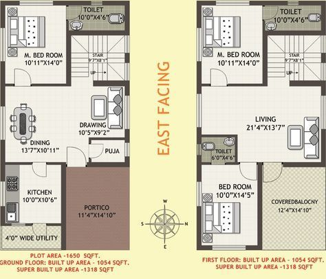 Duplex House Plans As Per Vastu Homeca 30x40 House Plans 20x30 House Plans Duplex House Plans Small house plan as per vastu