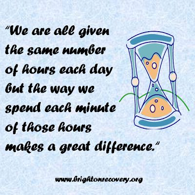 We are all given the same number of hours each day...