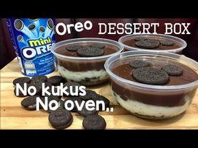 Oreo Dessert Box Kekinian Tanpa Oven Youtube Resep Makanan Penutup Kue Oreo Makanan Ringan Manis