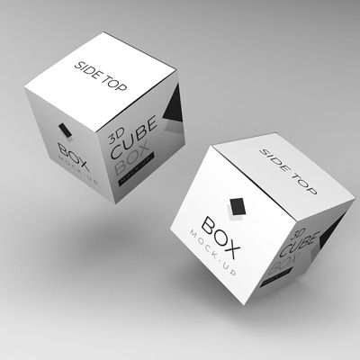 Use Packaging Square Box Mockup Is High Resolution Psd File With Smart Object The Design Colour Of Mockup Is Customizable Box Mockup Mockup Packaging Mockup