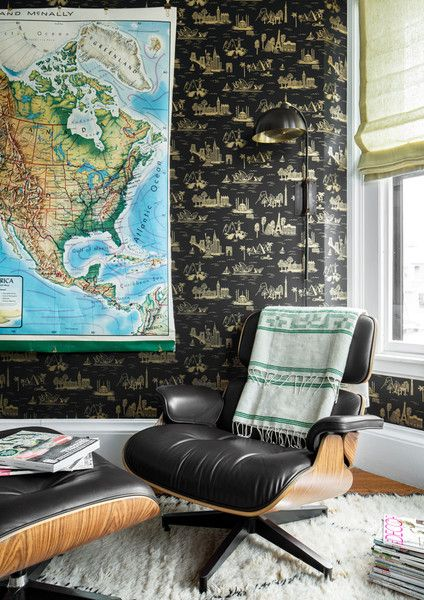 Kick Back - A Designer's Home That Takes Wallpaper To The Next Level - Photos