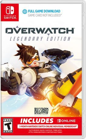 Activision Overwatch Legendary Edition Nintendo Switch With Images Nintendo Switch Games Nintendo Switch Action Adventure Game