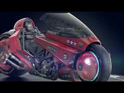 Akira Aesthetic Kaneda Biker Cyberpunk Ghost Rider Johnny Blaze White T-shirt