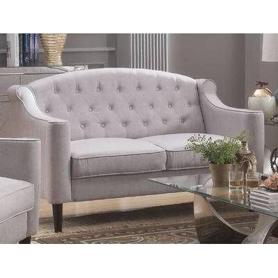 Gilmore 86 Flared Arm Sofa Love Seat Furniture Stylish Sofa