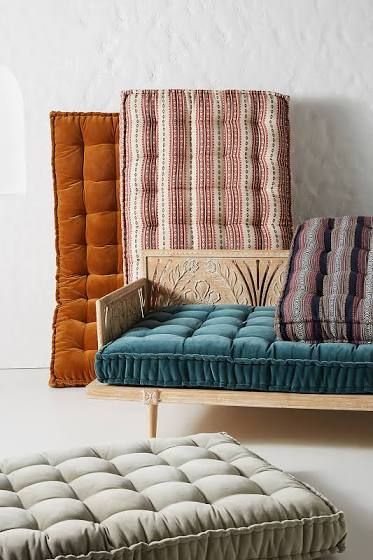 Velvet Daybed Cushion Daybed Cushion Furniture Moroccan Decor
