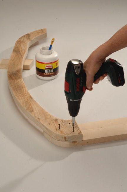Costruire una sedia a dondolo in legno | Sedia a dondolo