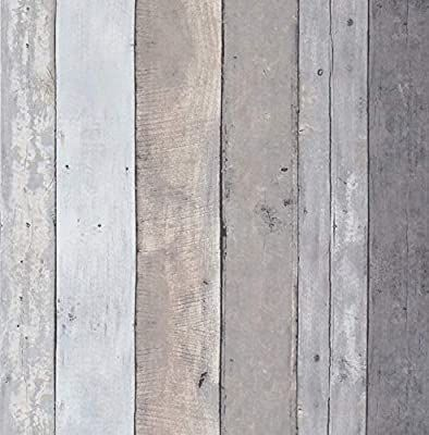 16 4ftx17 7 Contact Paper Wood Gray Wood Wallpaper Stick And Peel Gray Wall Paper Roll Wood Vinyl Remo In 2020 Wood Adhesive Peel And Stick Wood Wood Plank Wallpaper