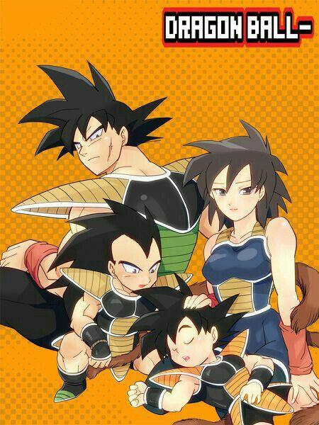 Goku Family Badak