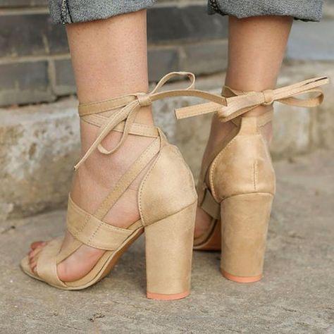 New Women's Bandage Sandals   Alfredo   Women, Lace up heels