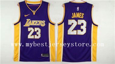 quality design b1d92 c6e28 LeBron James Los Angeles Lakers Stitched Jersey Yellow New ...