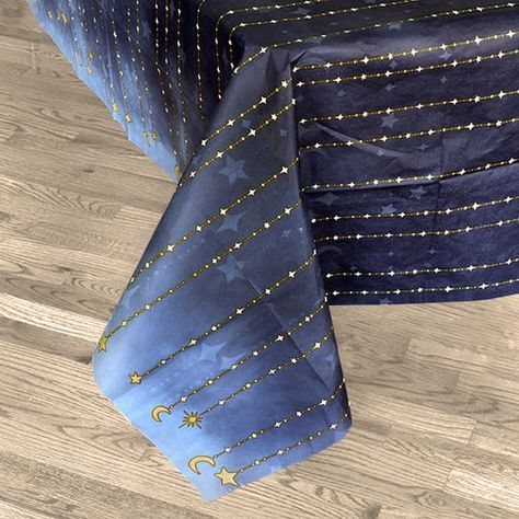Starry Night Table Cover Plastic, - All About Decoration