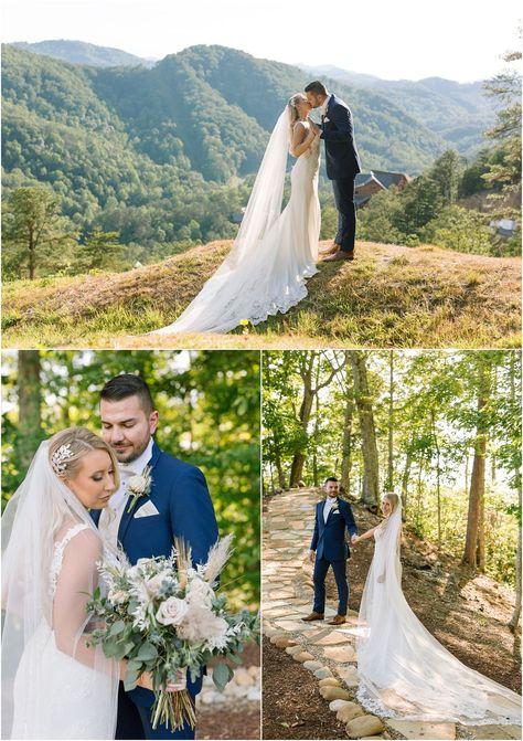 Smoky Mountain wedding at The Magnolia Venue in Pigeon Forge, TN. #gatlinburg #gatlinburgwedding #smokymountains #smokymountainwedding
