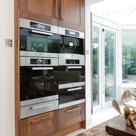 Banked appliances - Gotta love #Miele... Kitchen & Bath Cottage in Shreveport, LA is an authorized MIELE Showroom. www.kbcottage.com