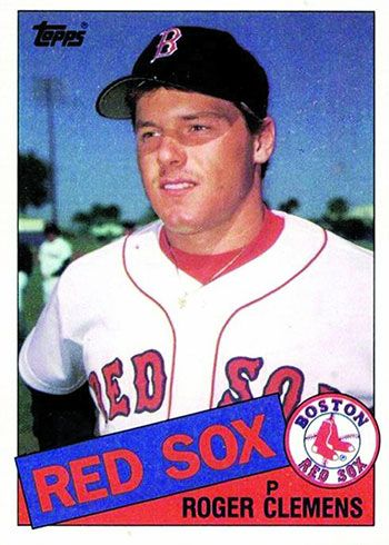 Top 100 1980s Baseball Cards And What Makes Them So Great Roger Clemens Baseball Cards For Sale Baseball Cards