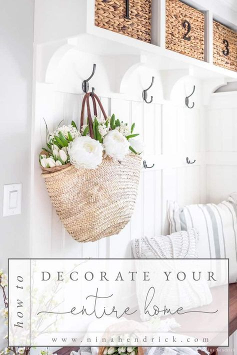 Decorate | Learn How to Decorate and Find Your Decorating Style and take the next step toward transforming your house into a home. Infuse your home with your own personal style through decorating. #HomeDecor #DIY #HomeDecoratingIdeas