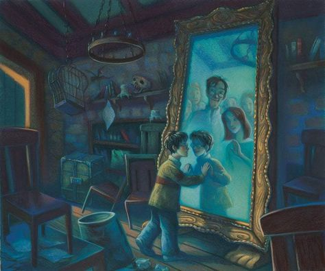 Harry Potter Mirror of Erised Mary GrandPre SIGNED Giclee on Fine Art Paper Limited Edition of 250