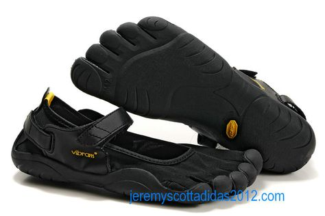 reputable site 86639 c7ad9 Vibram Five Fingers Sprint Shoes Black Yellow