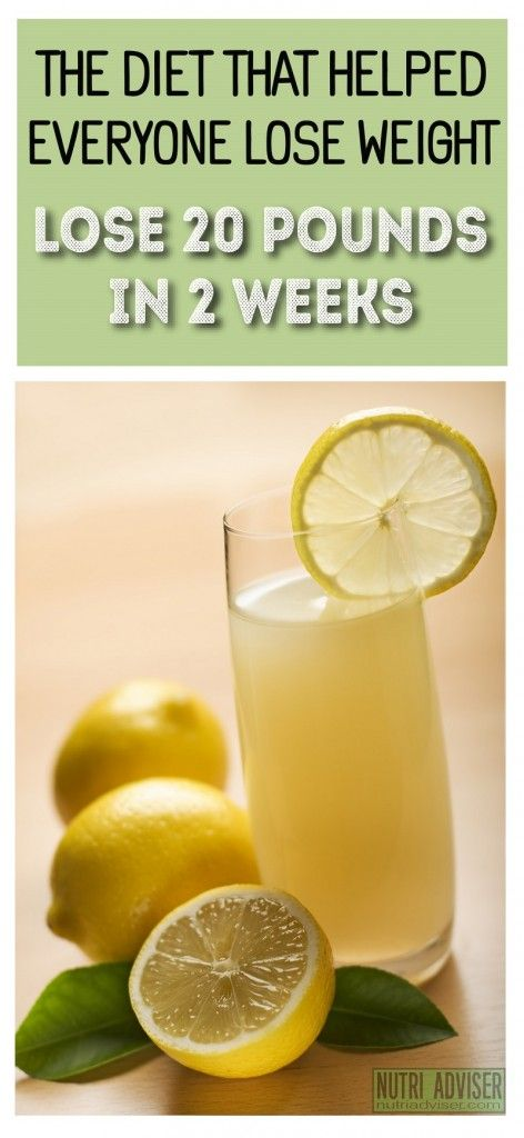 fresh lemon juice and weight loss