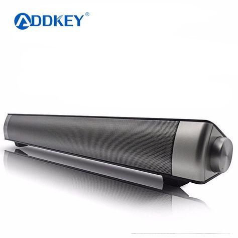 1b563360e7d ADDKEY Powerful Bluetooth Soundbar TV sound Soundbar LP-08 HIFI Mini  Altavoz USB Soundbar Speaker For Computer PC Tablet TV Review