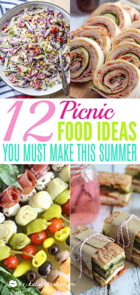 12 Picnic Food Ideas You Must Make This Summer