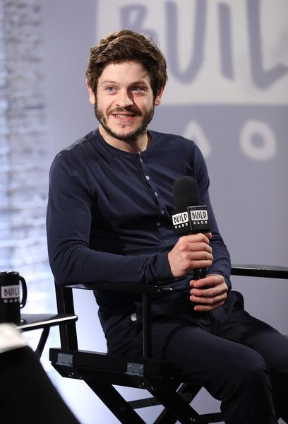 Iwan Rheon talking about his acting roles in television shows Riviera and Inhumans  at Build LDN at AOL London on June 27, 2017 in London, England.
