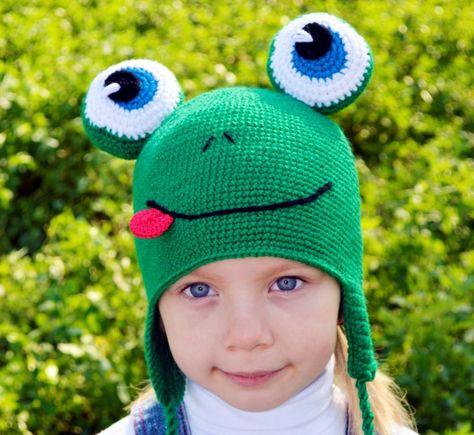 Детская прикольная шапочка с улыбкой купить смешные шапки с ушками ...
