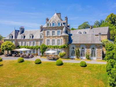 13 Bedroom French Chateau For Sale With 14 23 Hectares Of Land Plomb Manche Normandy In 2020 Equestrian Facilities French Chateau Chateau