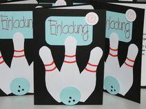 die besten 10+ einladung kindergeburtstag bowling basteln ideen, Einladungsentwurf