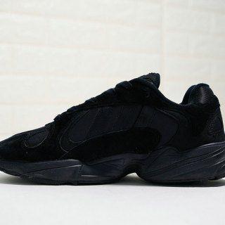 Adidas Originals YUNG 1 YEEZY700 All black warrior B37618