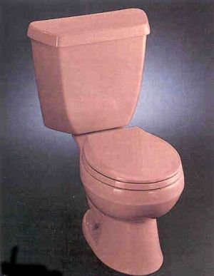 Kohler Pink Toilet