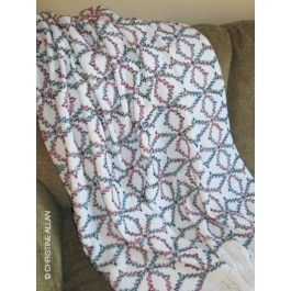 *** NEW Stained Glass Lap Blanket