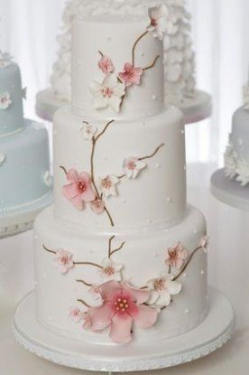 Wedding Cakes Simple Spring Cherry Blossoms 50+ Ideas For 2019