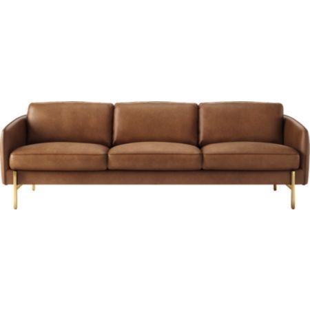 Hoxton Black Leather Sofa Reviews Cb2 Green Leather Chair Green Leather Sofa Leather Sofa