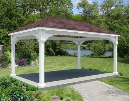 12 X 18 Vinyl Ramada Rectangular Gazebo Rectangle Gazebo Gazebo Plans