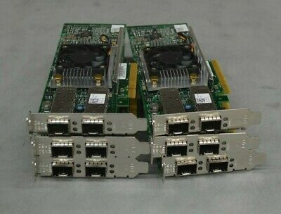 Sponsored Dell Broadcom 57810s Dual Port 10gbe Pcie Network Adapter Nic Y40ph Low Profile Networking Port Ebay