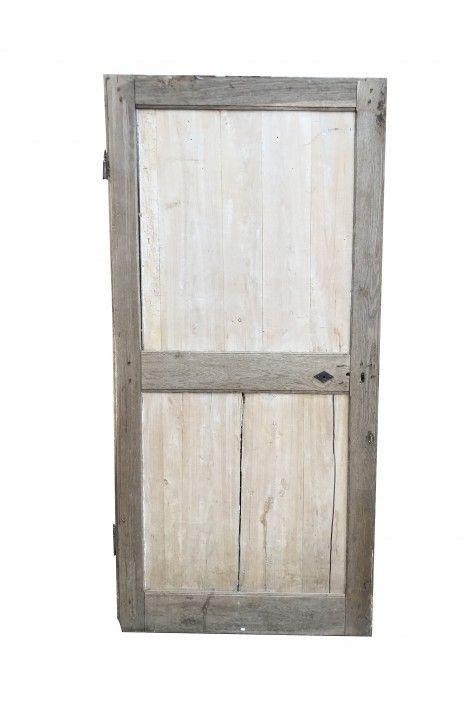 Jolie Porte Ancienne En Chene Massif Decapee Et Restauree 1925 Portes En Chene Chene Massif Chene