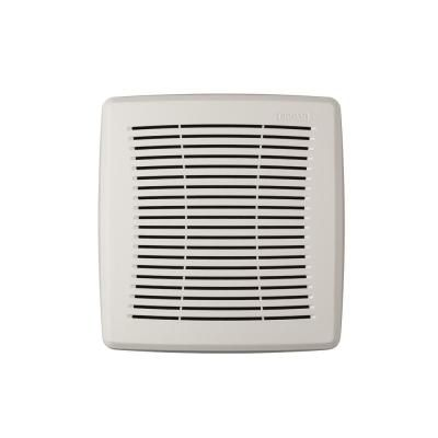 Broan Nutone Easy Install Bathroom Ventilation Fan Replacement Grille In White In 2020 Easy Install Home Depot