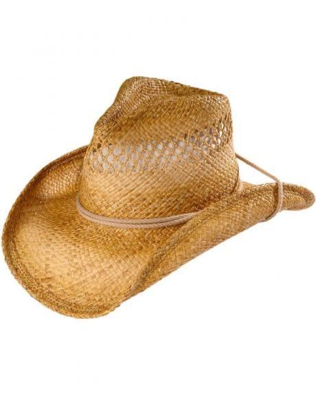 816f5d52b78ac Shady Brady Pinch Front Straw Cowboy Hat | Hat It | Cowboy hats ...