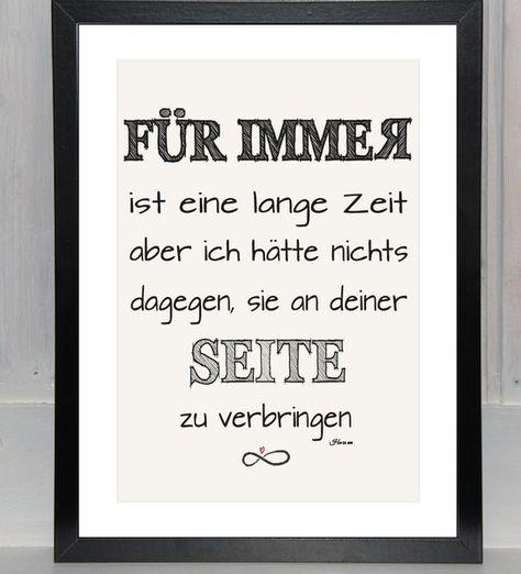 Liebeserklärung+-+FÜR+IMMER+grafisch+-+Print,++von+bei.werk+★+prints+&+more+auf+DaWanda.com