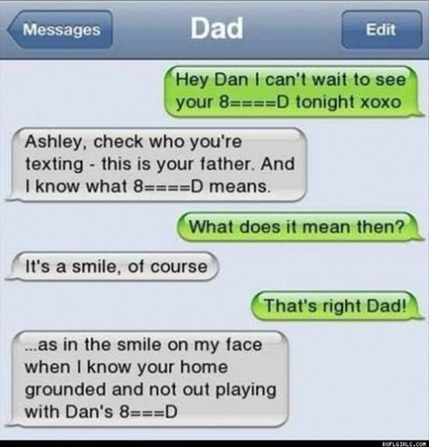 This dad's who knows emojis. | 26 Relationships That Were Obviously Doomed From The Start