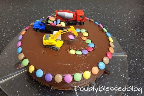 Die Coolsten Geburtstagskuchen Die Baustelle Doublyblessedblog Kinder Kuchen Geburtstag Geburtstagskuchen Kind Beste Geburtstagskuchen