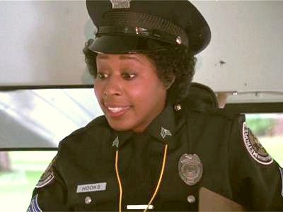 Marion Ramsey As Cadet Laverne Hooks In A Scene From The 1984 Movie Police Academy Police Academy Marion Ramsey 1984 Movie