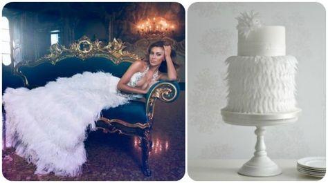 20 abiti da sposa 2014, abbinati ad altrettante torte nuziali: delizia per gli occhi e per il palato! Image: 13