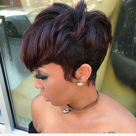 Short Relaxed Hair With High Crown Short Relaxed Hairstyles For Black Women In 2020 Short Relaxed Hairstyles Short Hair Styles Relaxed Hair